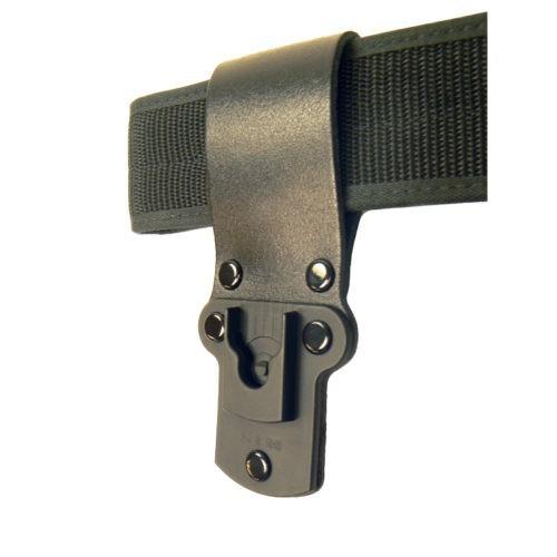 Click-On leather belt loop. Klick Fast compatible
