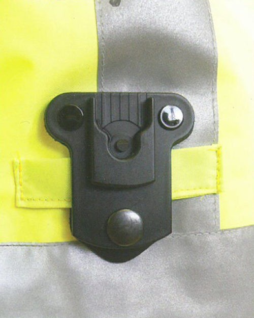 Click-On Leather Shirt Tag Dock