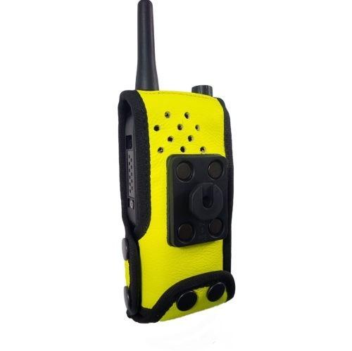 Sepura SC2120 M1 Radio Case Hi Vis Yellow back