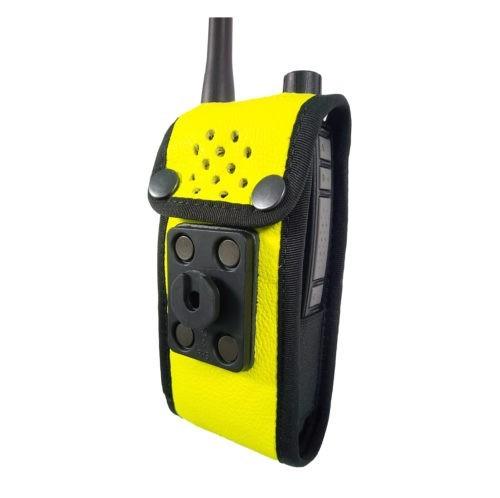 Sepura SC2120 M2 Radio Case Hi Vis Yellow back