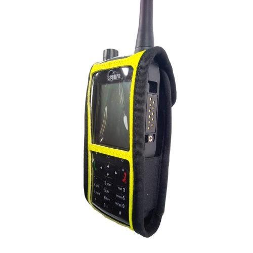 Sepura SC2120 M2 Radio Case Hi Vis Yellow side1