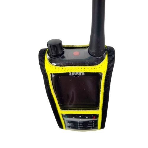 Sepura SC2120 M2 Radio Case Hi Vis Yellow top
