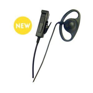 RHS5607 Alpha PTT Radio Earpiece d shape