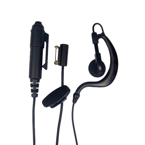 G-Shape PTT system earpiece