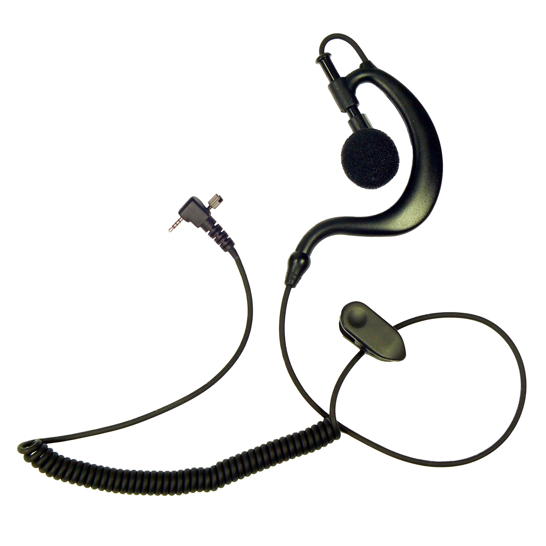 G-Shape earpiece Sepura Tetra radio