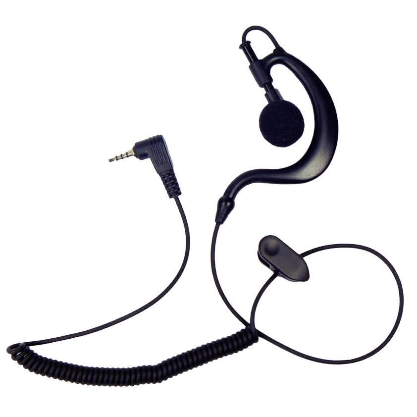 G-Shape listen-only earpiece Sepura Tetra radio