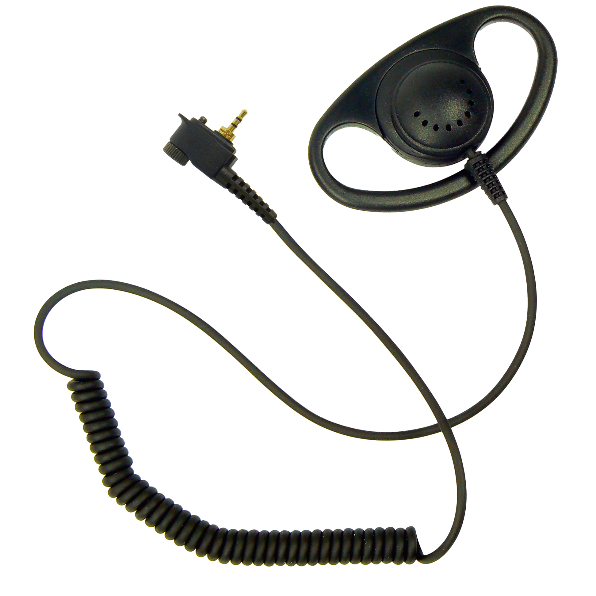 D-Shape earpiece for Tetra Motorola