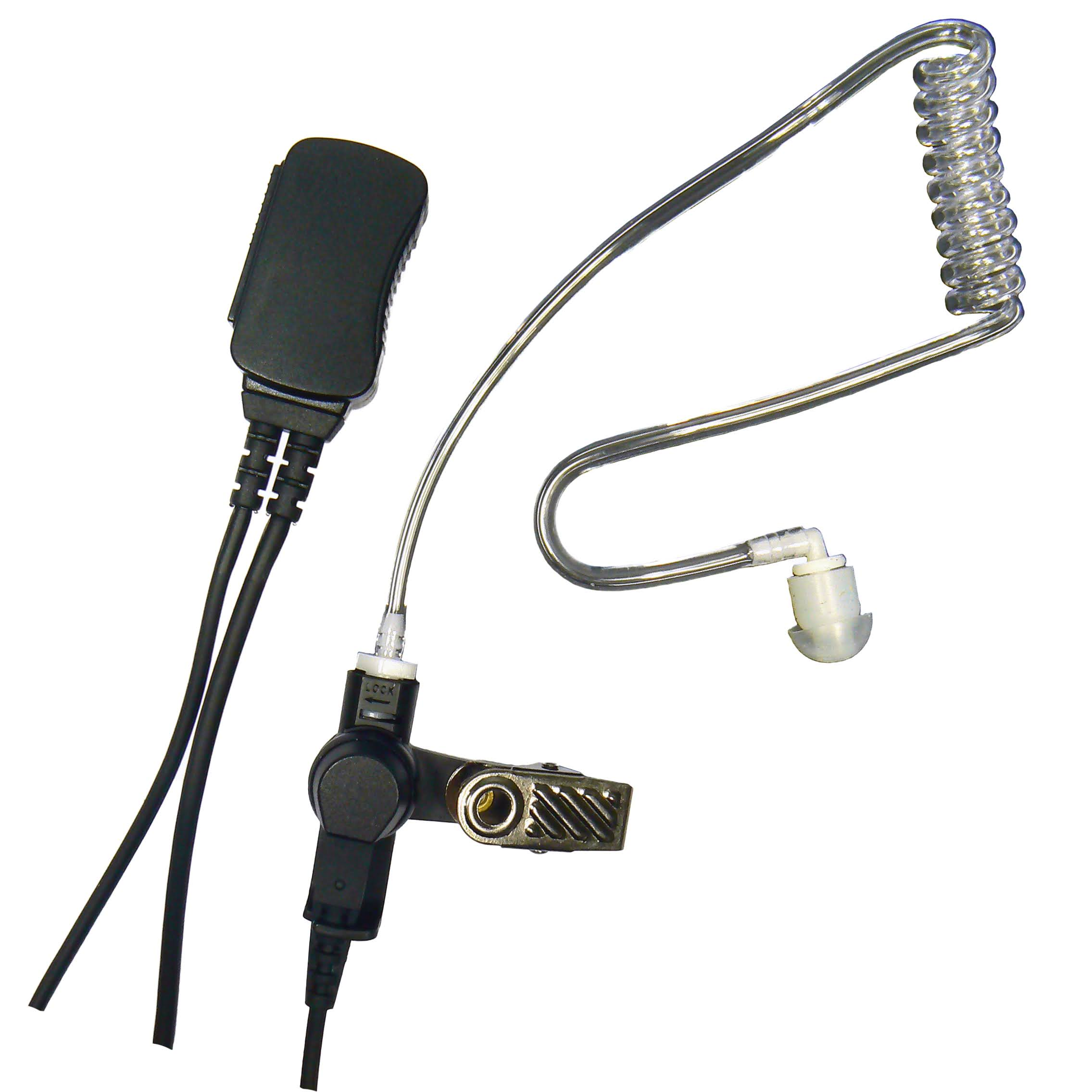 PTT System Acoustic Tube Earpiece Tetra Airwaves