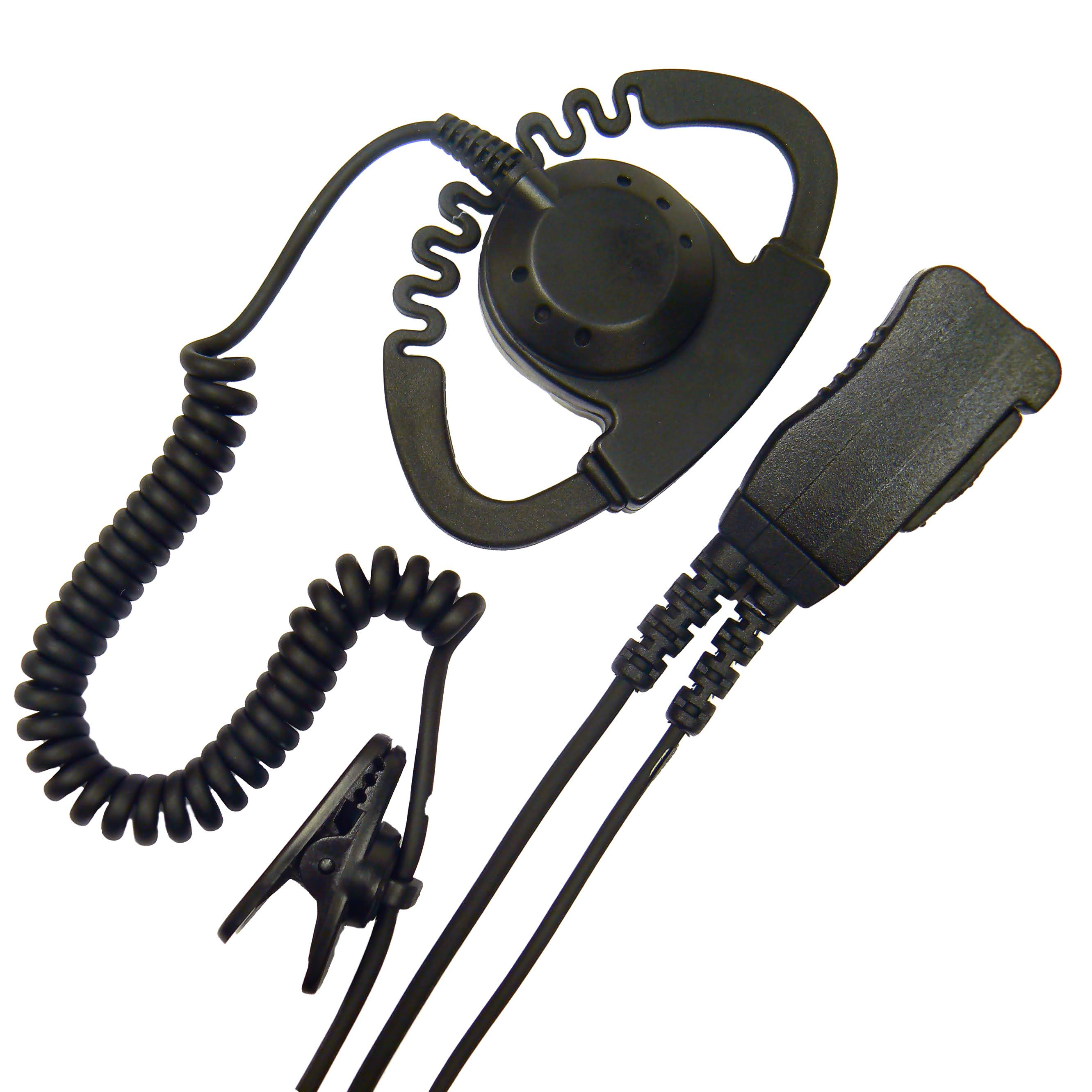 D-Shape earpiece PTT