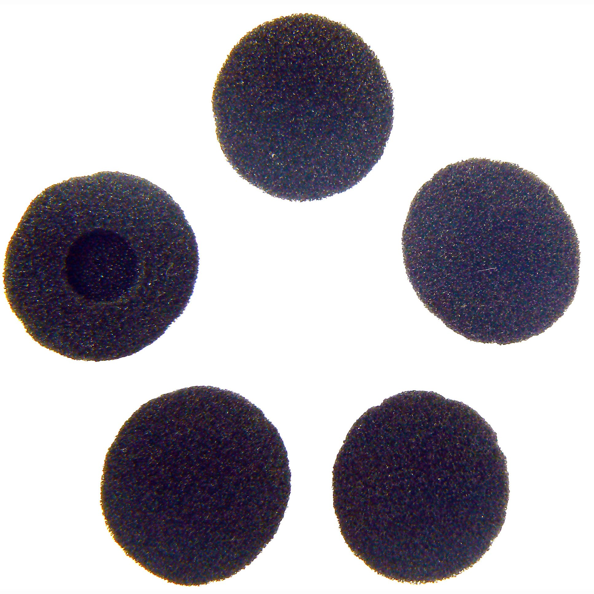 Earbud sponges replacement spare black for G-Shape earpiece
