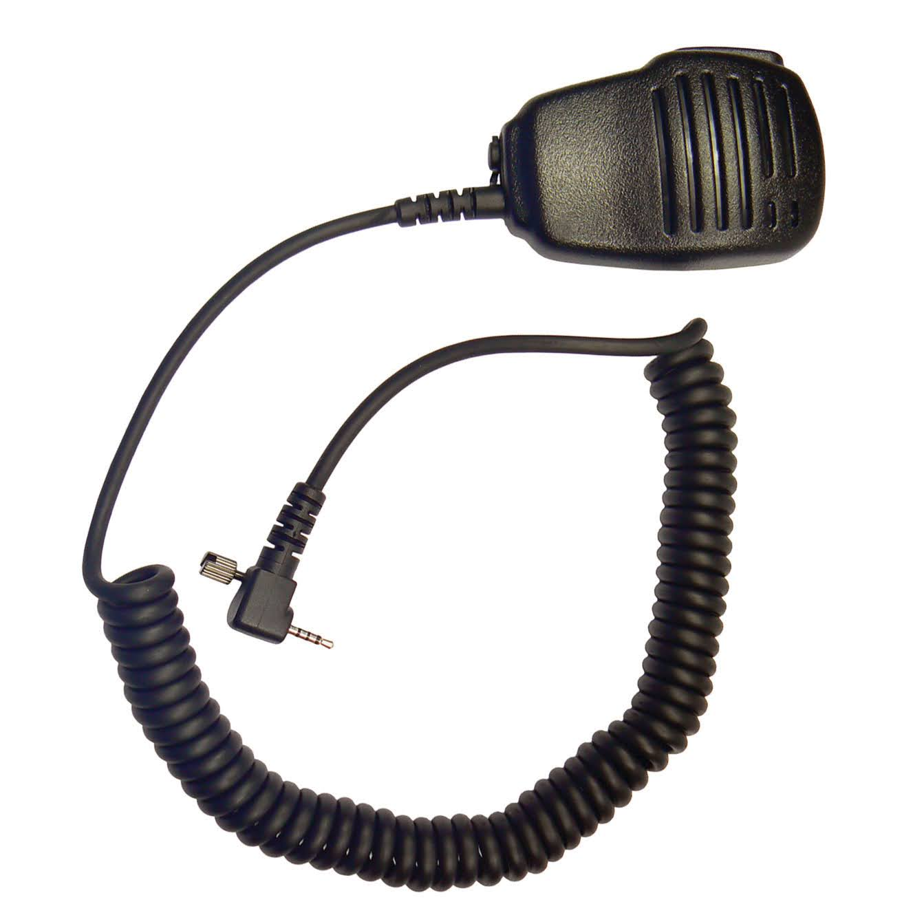 Motorola fist mic Microphone with single pin and screw jack