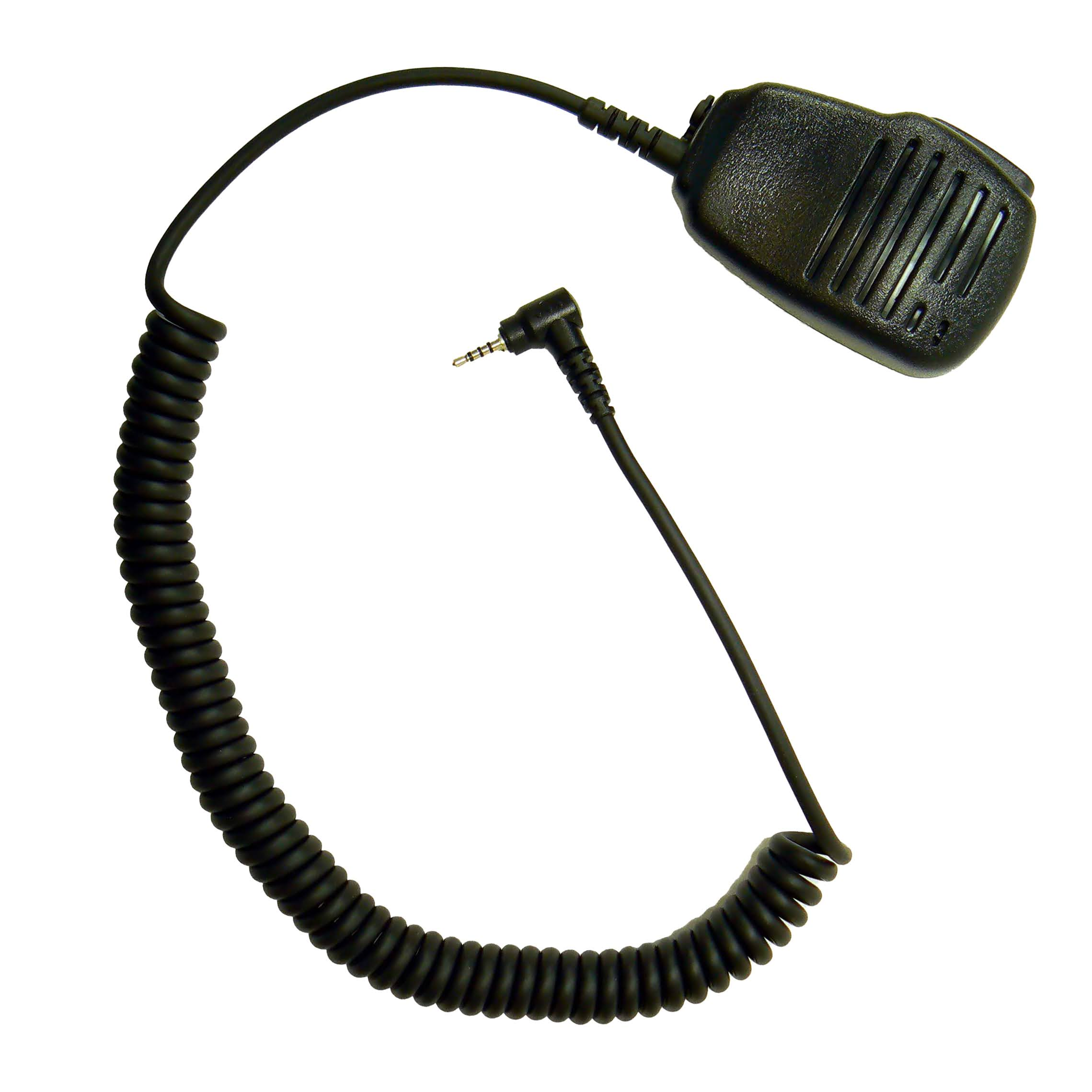 Plug-in microphone for radio communications Single pin jack