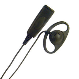 D-Shape earpiece PTT Tetra Airwaves