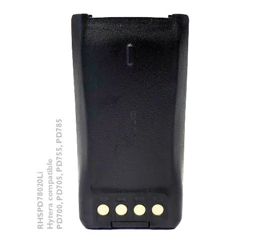 Hytera Radio Battery PD700 PD705 PD755 PD785