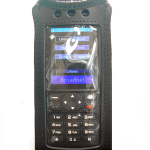 Broadnet BN220 Radio Case Leather with Click-On