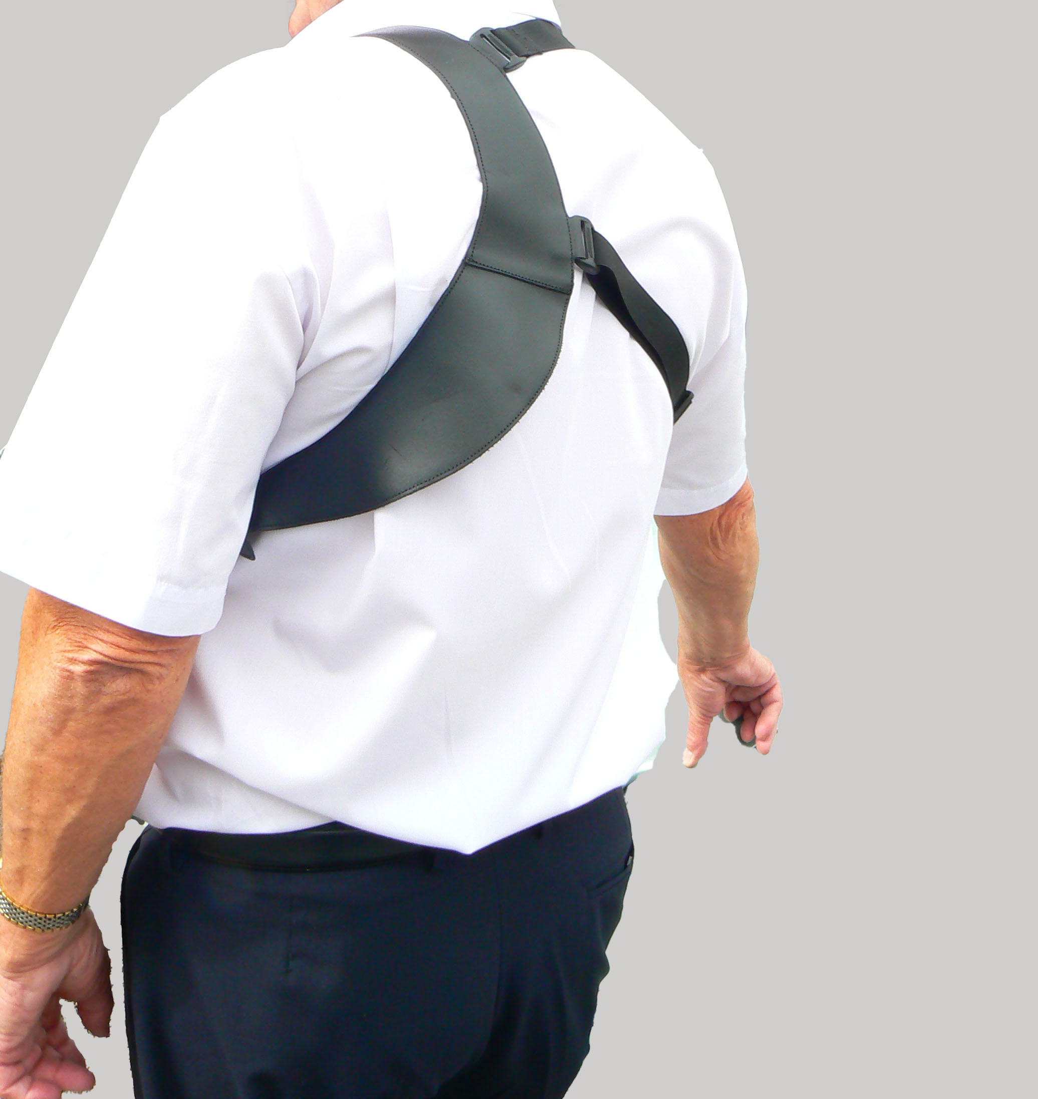 Shoulder Holster Harness with Click-On for Radio