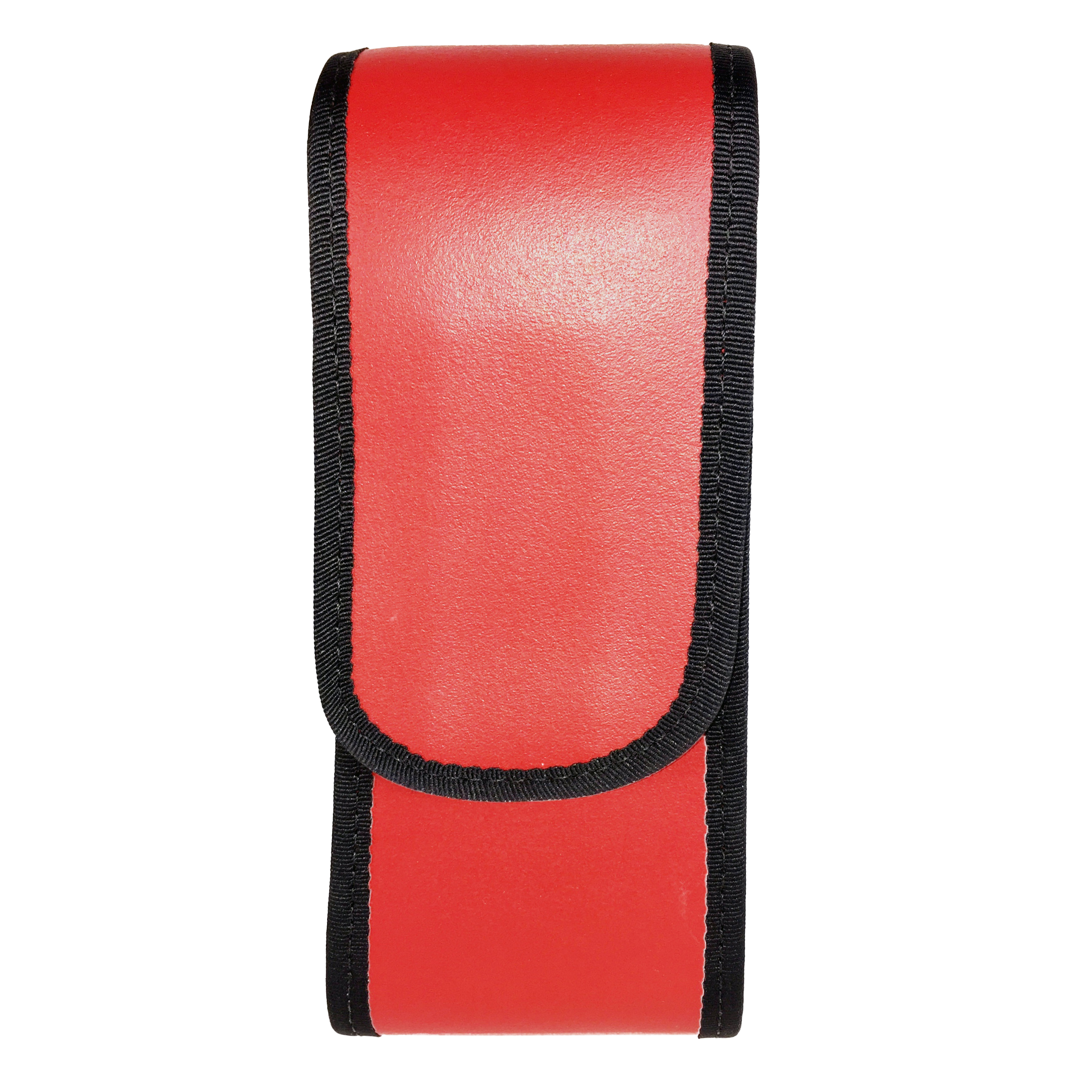 Leather radio case for DECT Phone Red