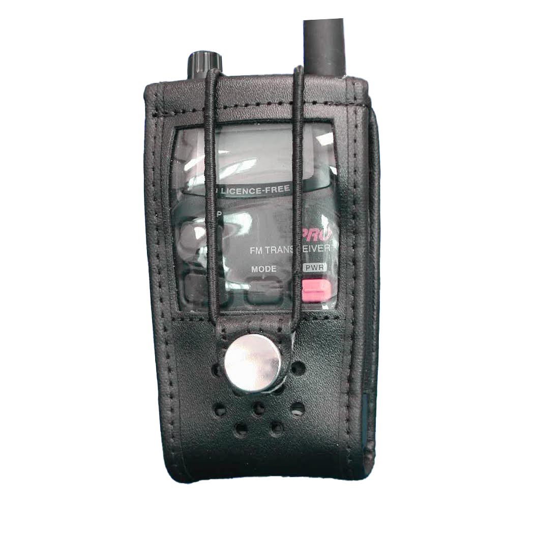 Icom IC-4088 leather radio case