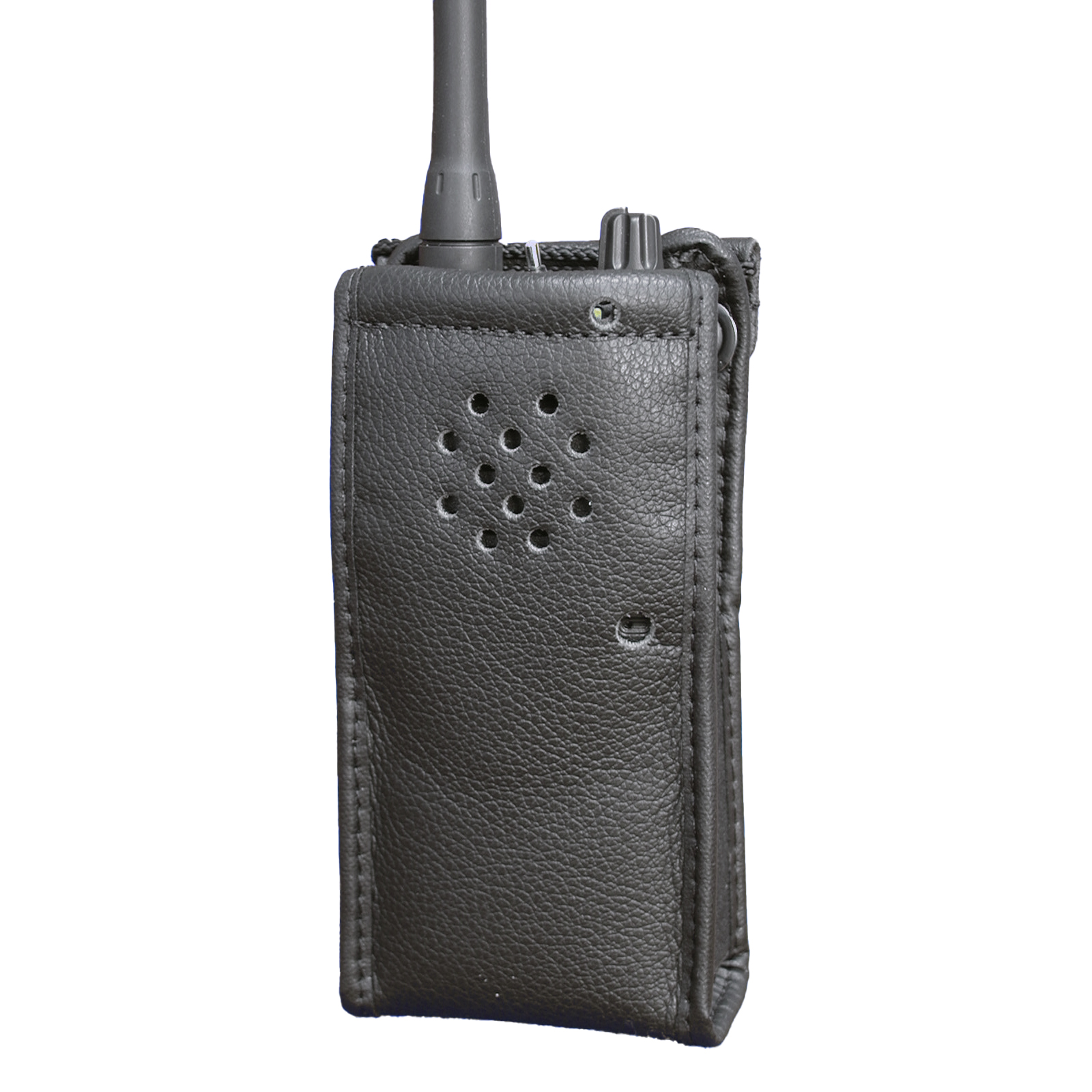Icom F15S Radio Case Leather with clip
