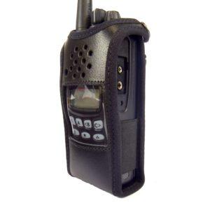 Kenwood TK3312 Radio Case Leather with Click-On