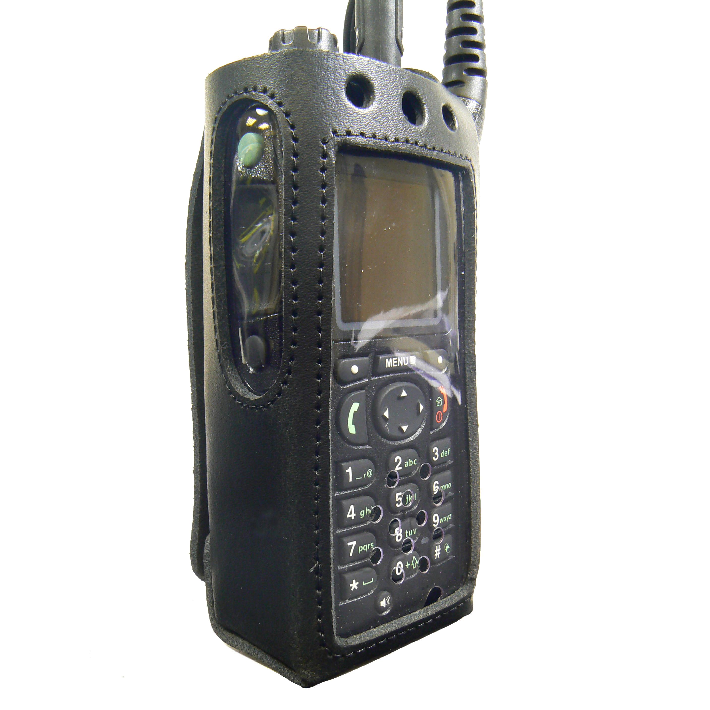 Motorola MTP850 FUG Tetra Radio Case Leather with Click-On