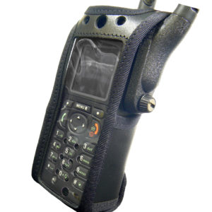 Motorola MTP850 FUG Tetra Radio Case Leather with Click-On