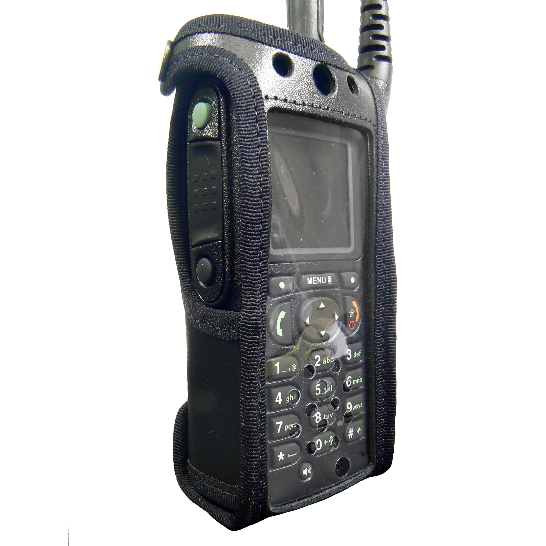 Motorola MTP850 FUG Tetra Radio Case Leather