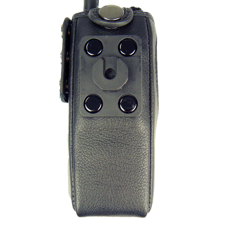 Motorola MTP850 Tetra Radio Case Leather with Click-On