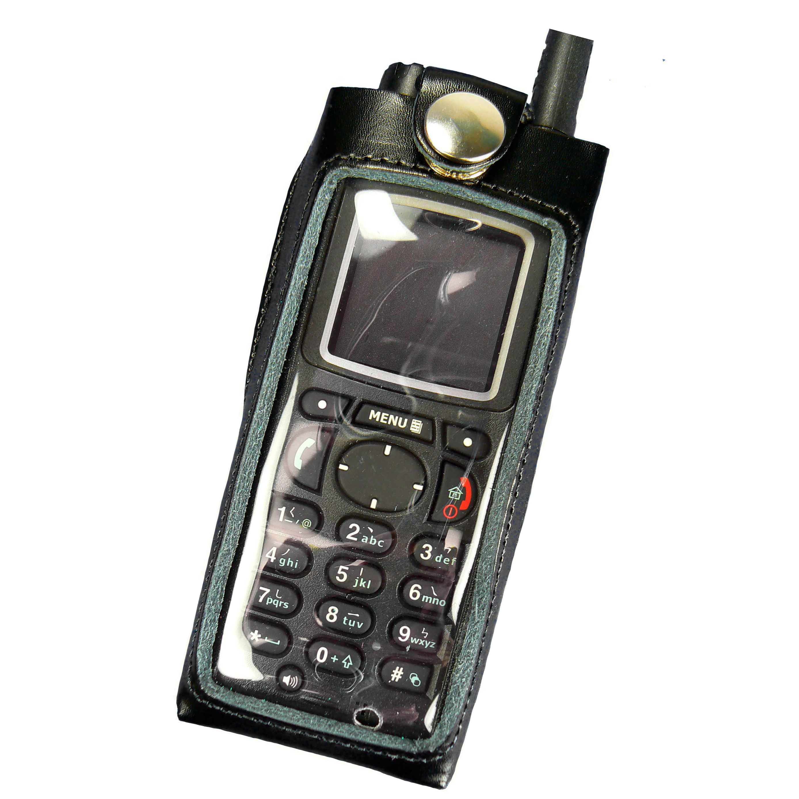 Motorola MTP850 Tetra Radio Case Leather with Click-On