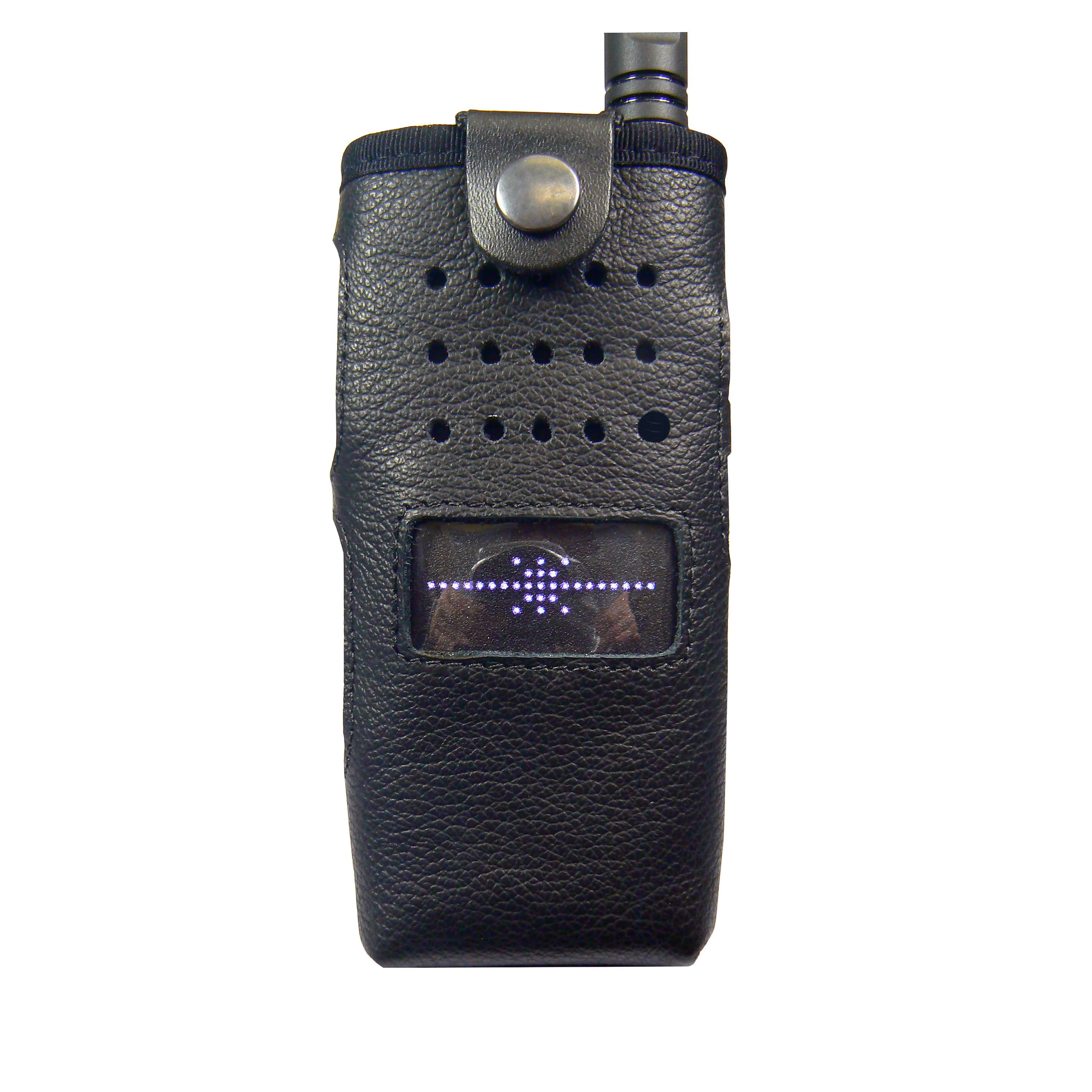 Motorola SL1600 Radio Case leather