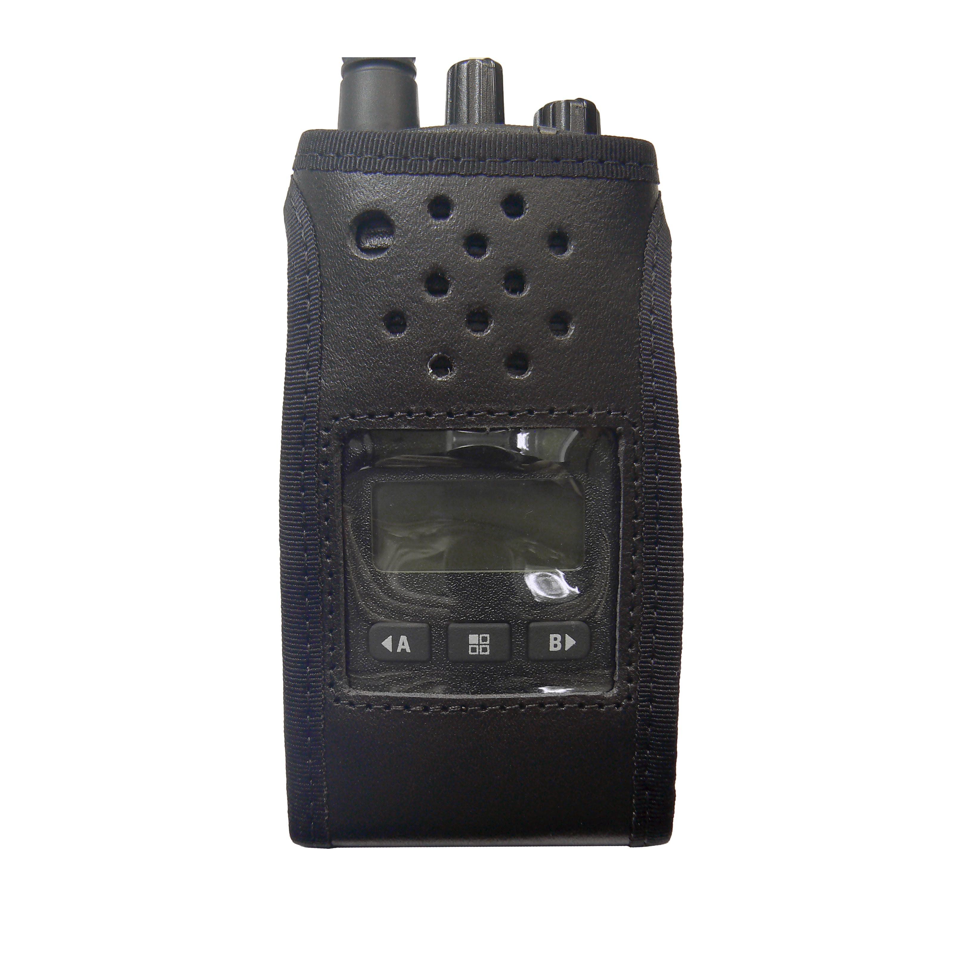 Motorola XT460 Radio Case Leather