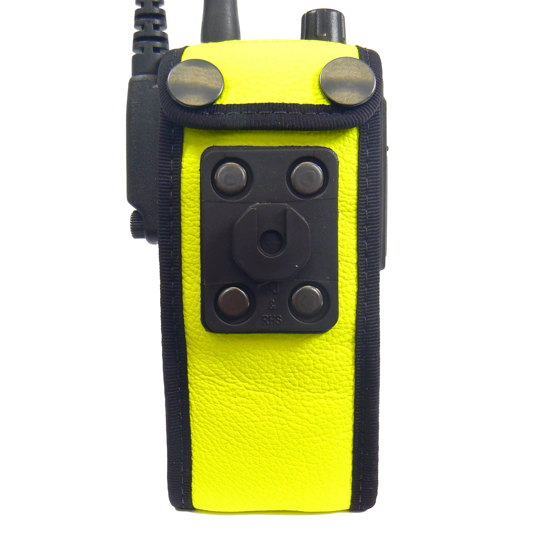Sepura STP8000 Tetra Radio Hi-Vis Leather