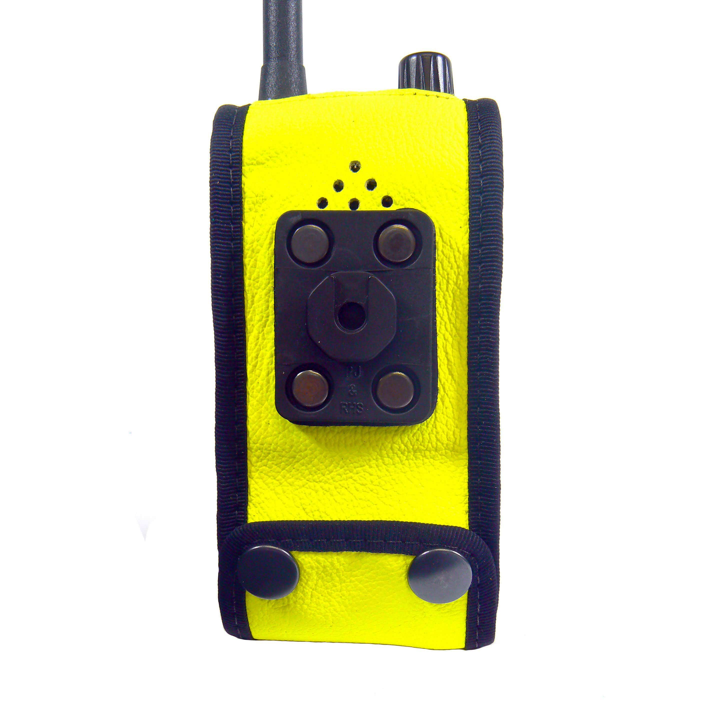 Sepura SRP3000 S16 Hi-Vis rear Radio case with Click-On