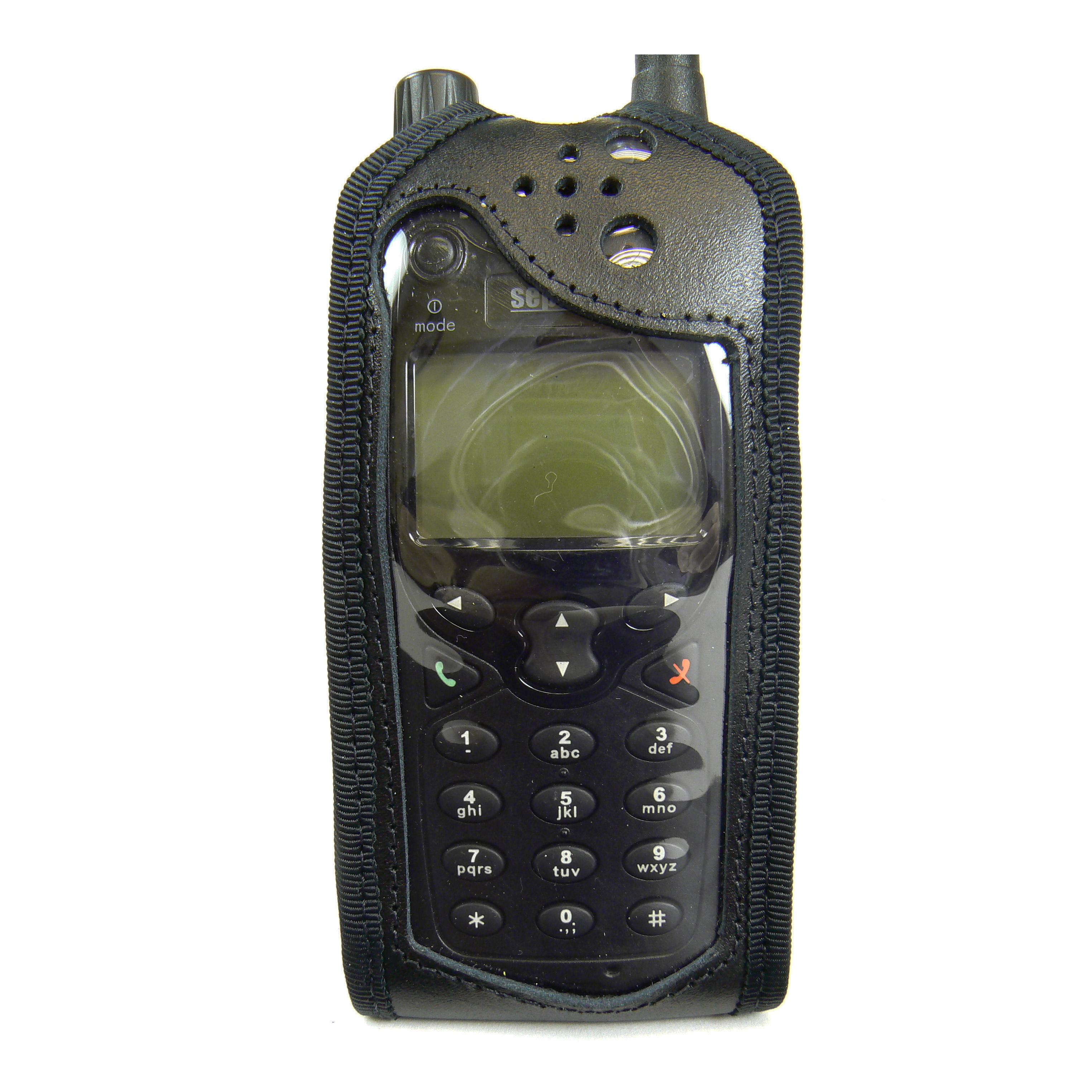 Leather Radio Case Sepura SRP2000