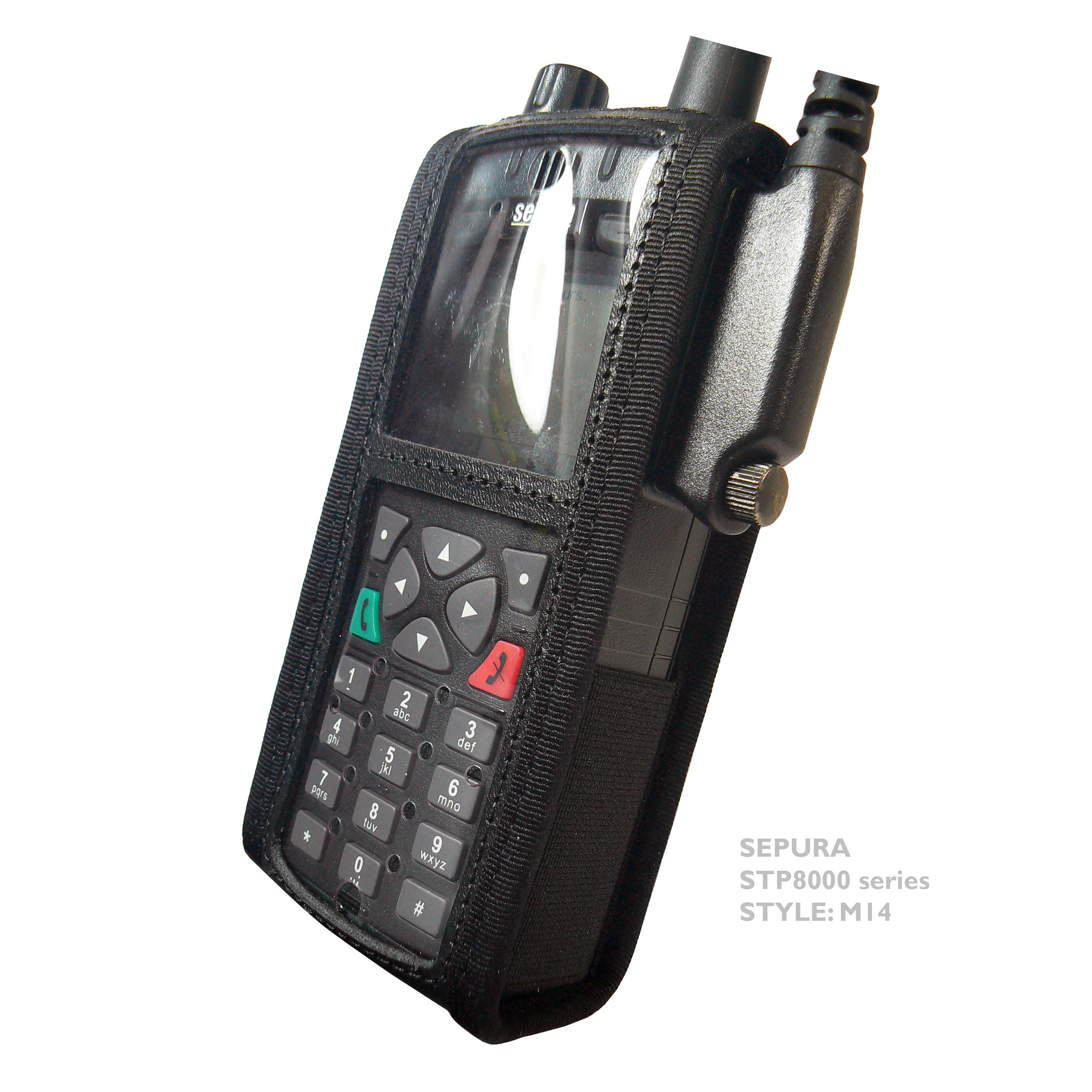 Sepura STP8000/9000 M14 Radio case