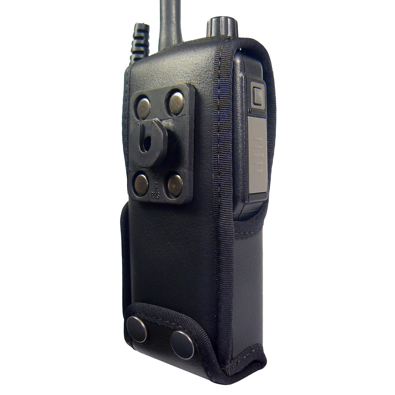 Sepura STP8000/9000 Radio Case Leather with Click-On