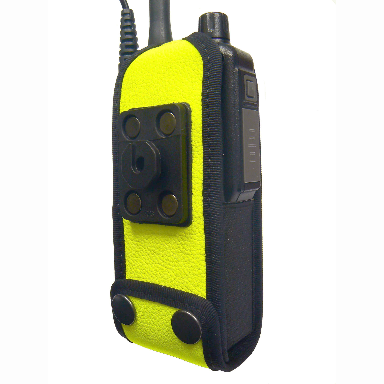 Sepura STP8000/9000 Radio Case Hi-Vis Yellow with Click-On