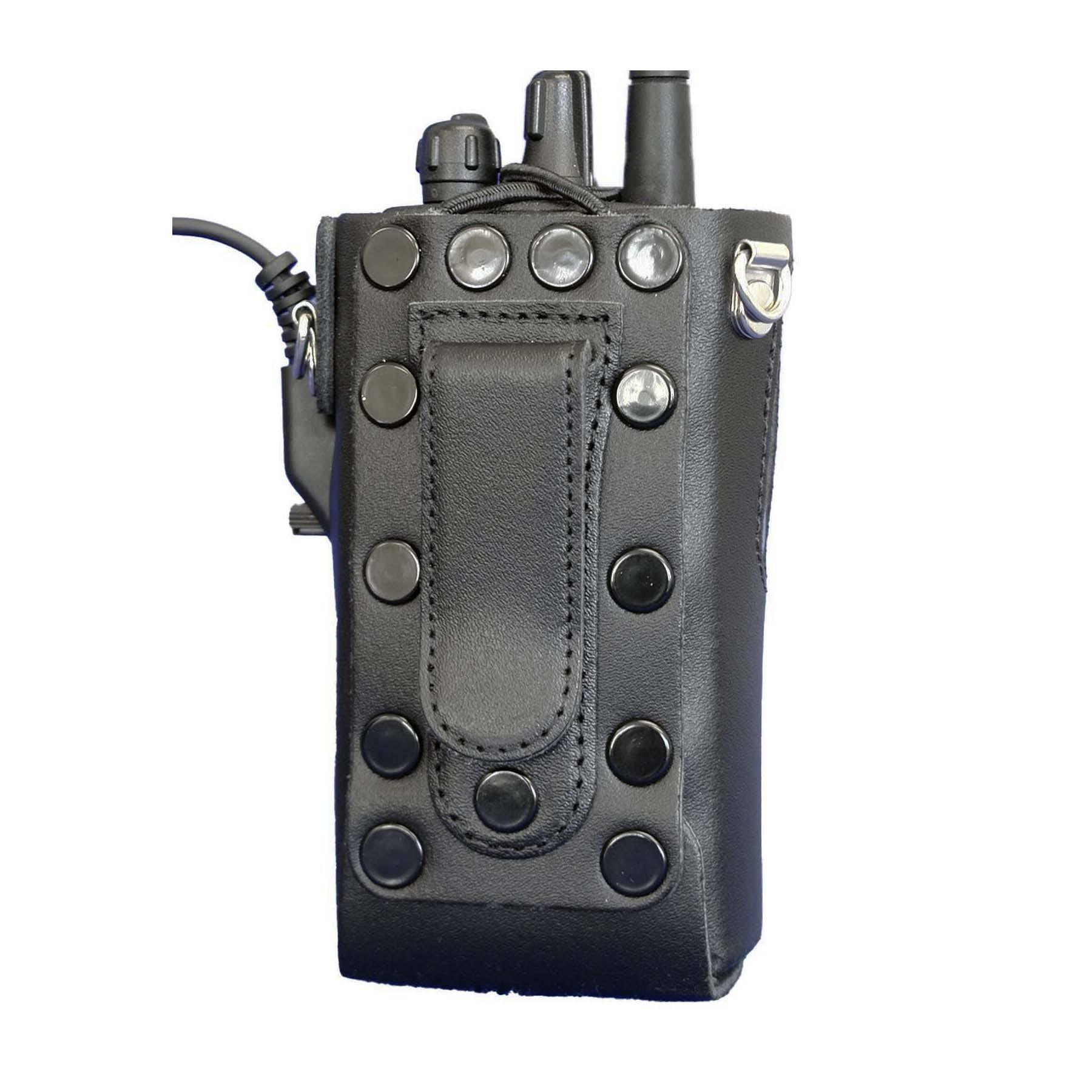 Vertex VX160 Leather Radio Case