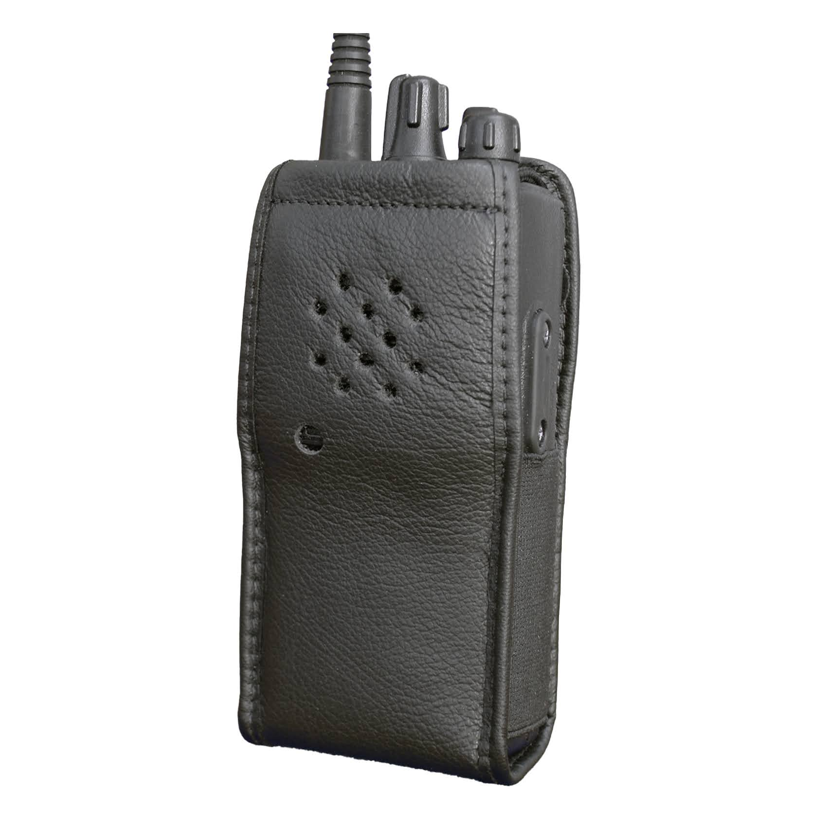 Vertex VX160 Leather Radio Case