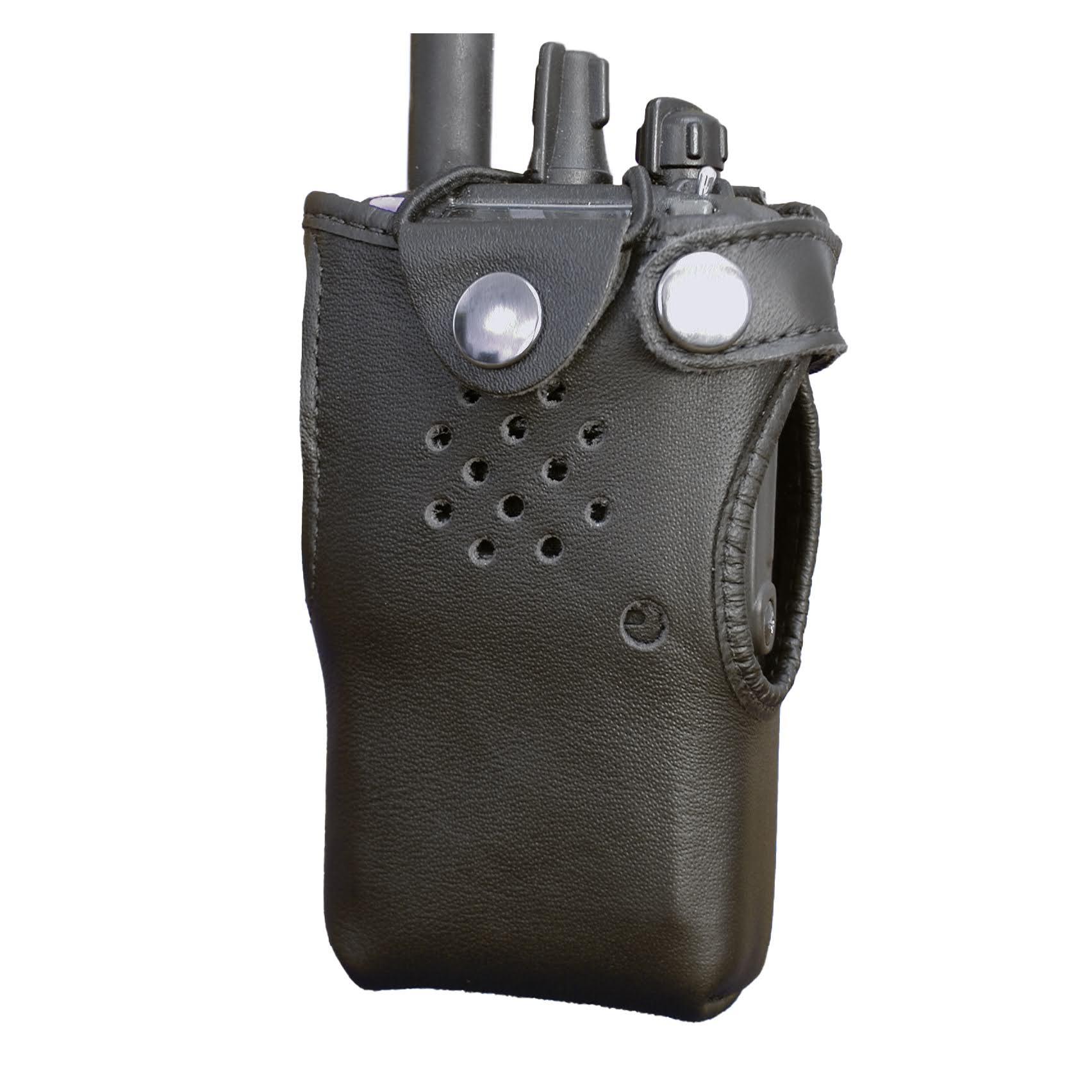 Vertex VX800 Leather Radio Case