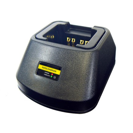 Tri-Chemistry Radio Battery Charger Pod Motorola Hytera Kenwood Icom