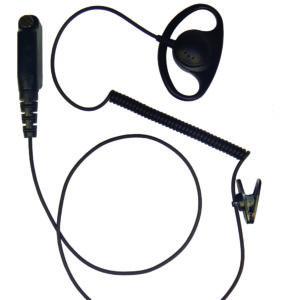 D-Shape Tetra radio earpiece Sepura SEP4