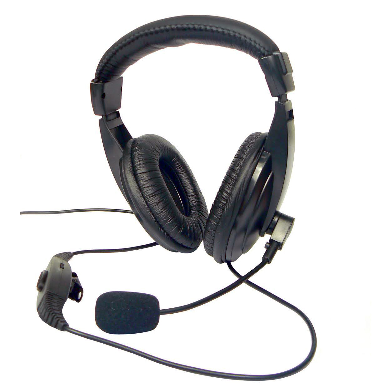 Full headphone and microphone