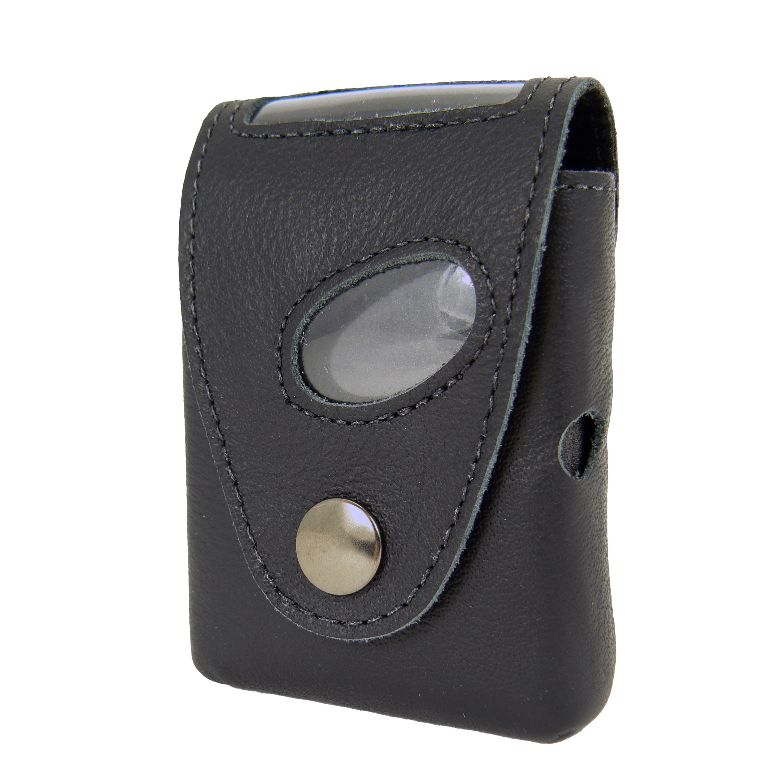 Truly Pager Case Leather with clip
