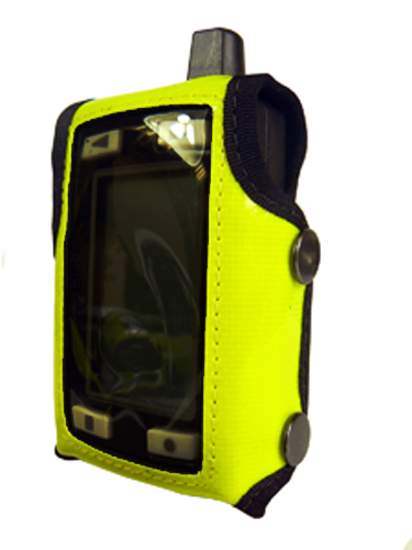 Pager Case Oelmann Viper Hi-Vis Yellow with Click-On